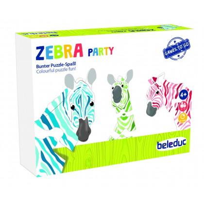 Zebra party | Beleduc