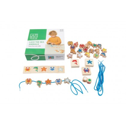 Lace the sea animals | Toys for Life