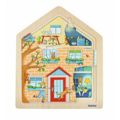 Layer puzzle home | Beleduc