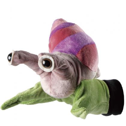 Snail hand puppet   Beleduc