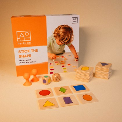 Stick the shape | Toys for Life